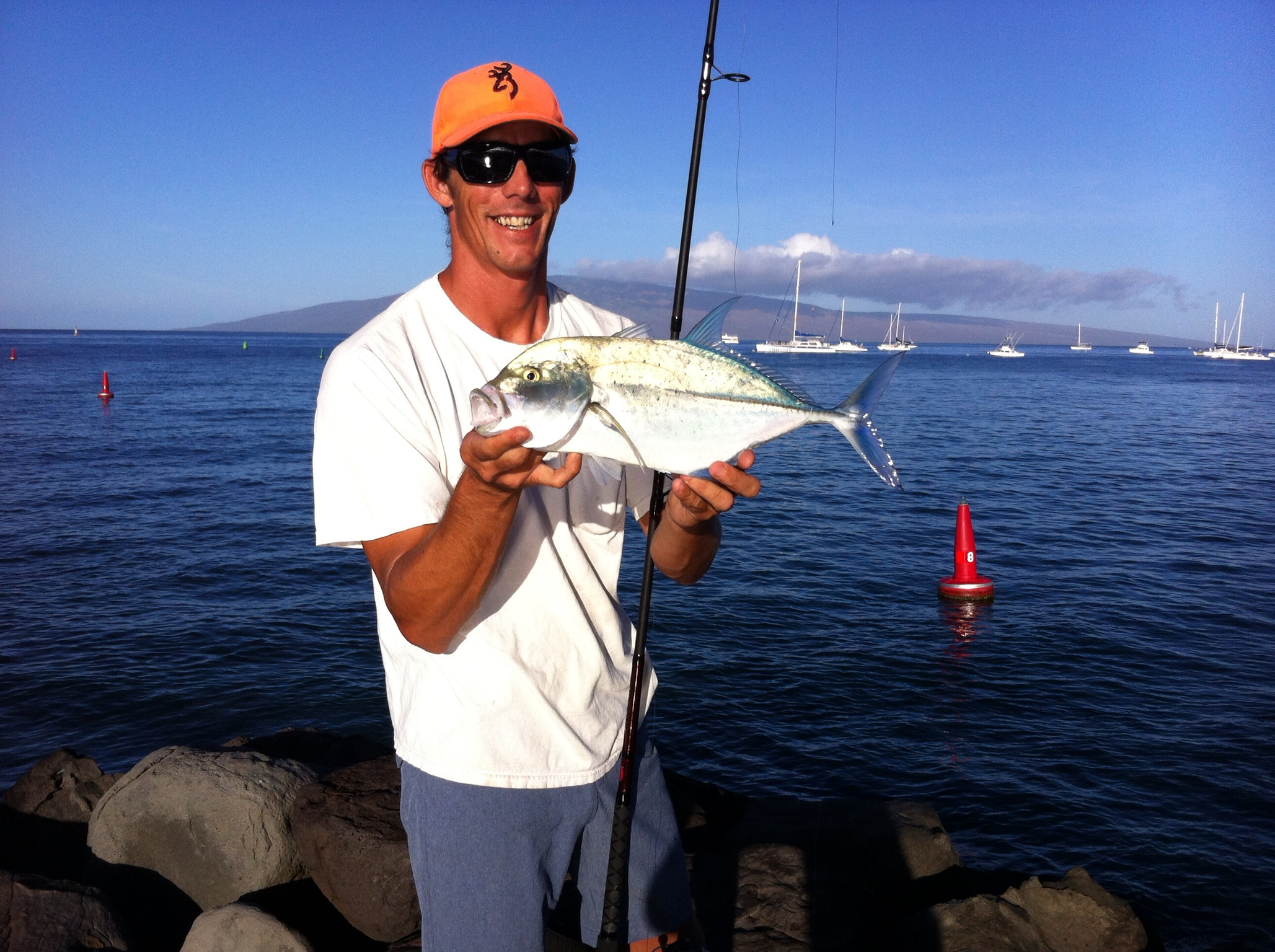 First cast ii maui shore fishing guides maui fishing for Fishing in maui
