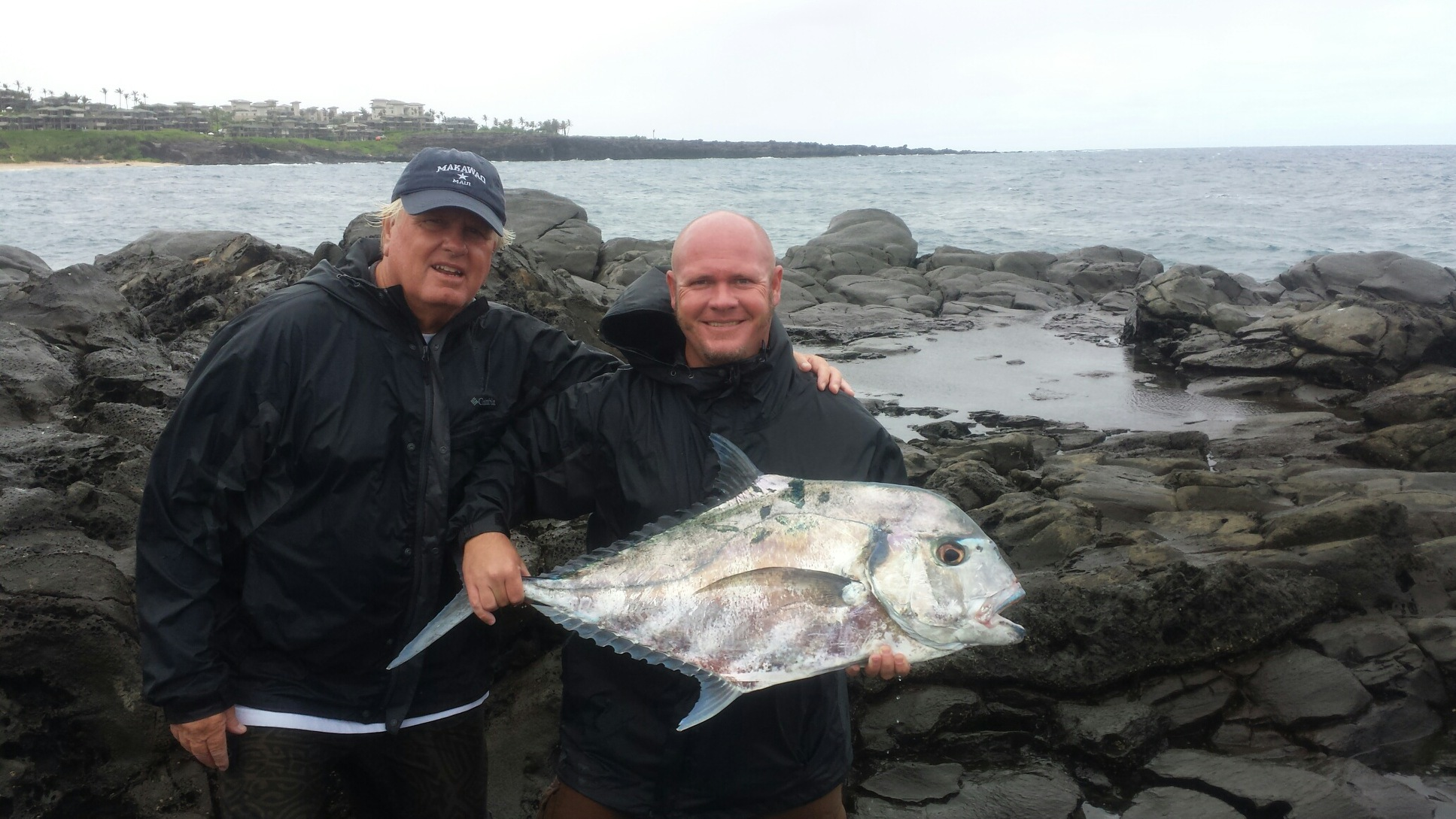 Maui shore fishing guides maui fishing tours maui for Maui fishing charter
