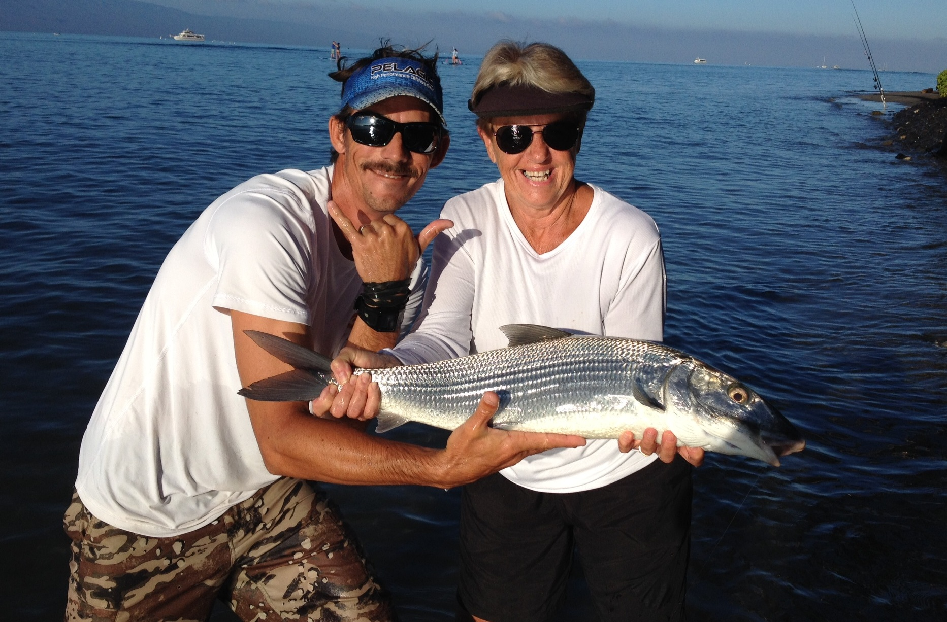 Maui shore fishing guides maui fishing tours maui for Fishing in maui
